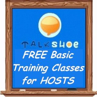 FREE Basic Training for TalkShoe Hosts